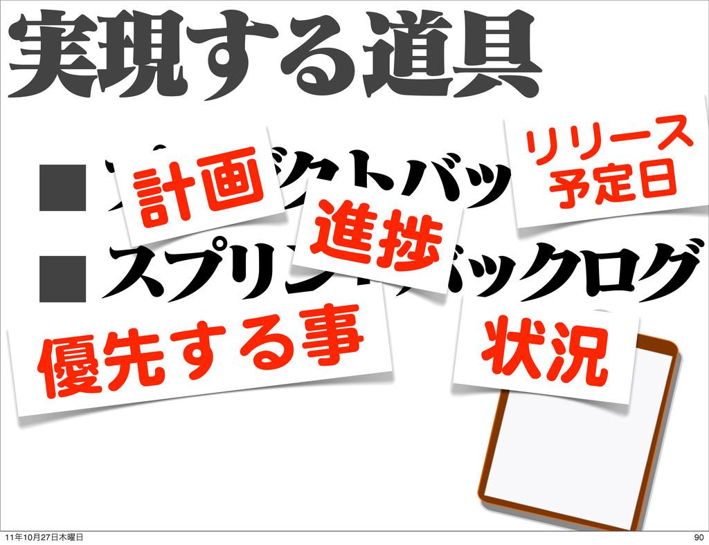 ࣮ݱ͢Δಓ۩ ■ϓϩμΫτόοΫϩά ■εϓϦϯτόοΫϩά 計画 リリース 予定日 進捗 状...