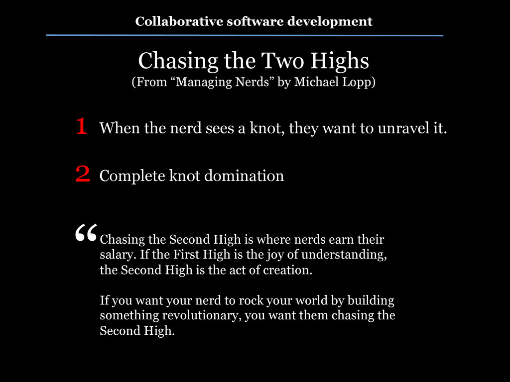 Collaborative software development Chasing the ...