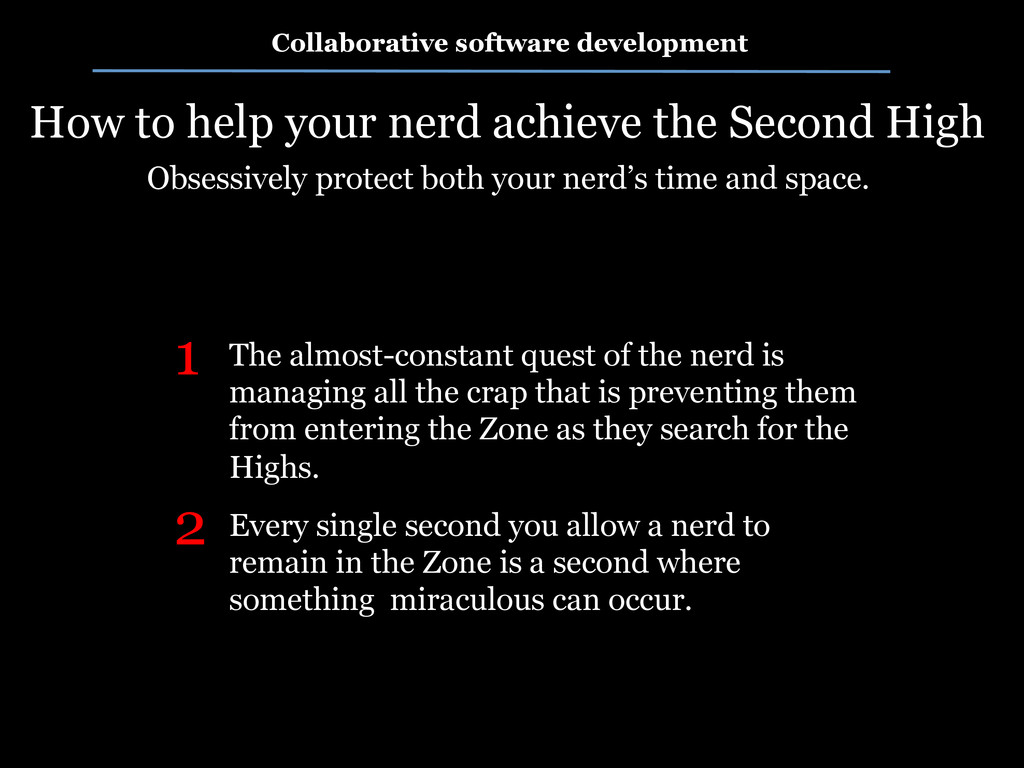 Collaborative software development How to help ...