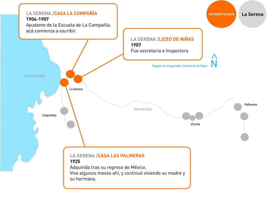 infraestructura La Serena LA SERENA /CASA LAS P...