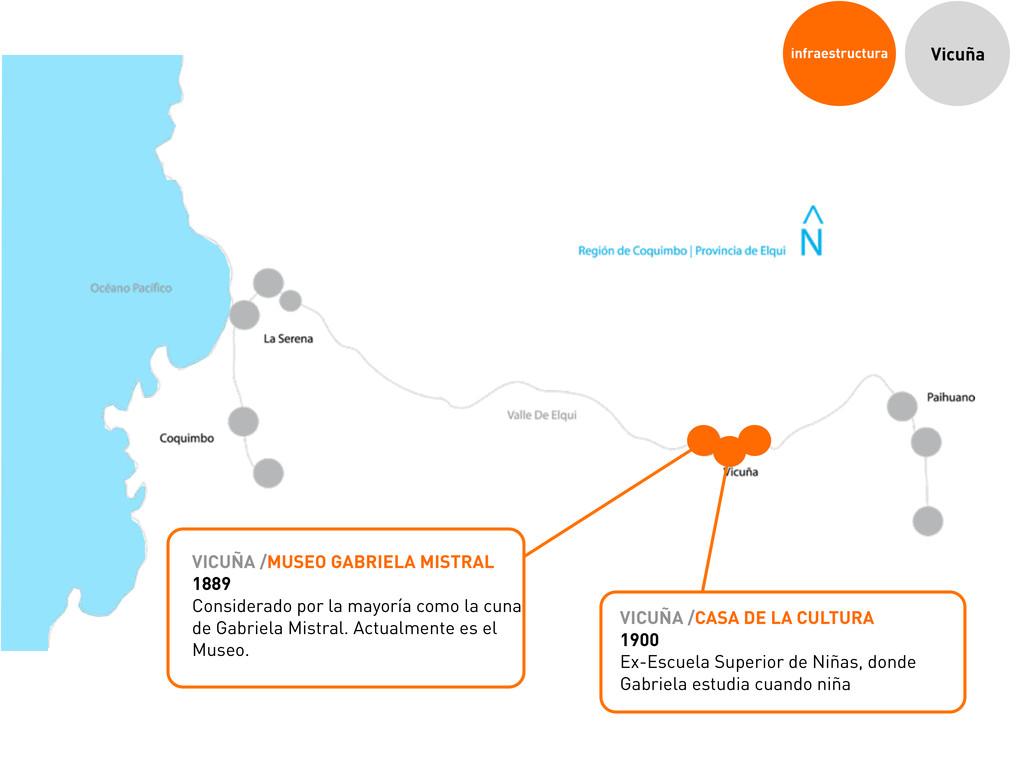 infraestructura Vicuña VICUÑA /MUSEO GABRIELA M...