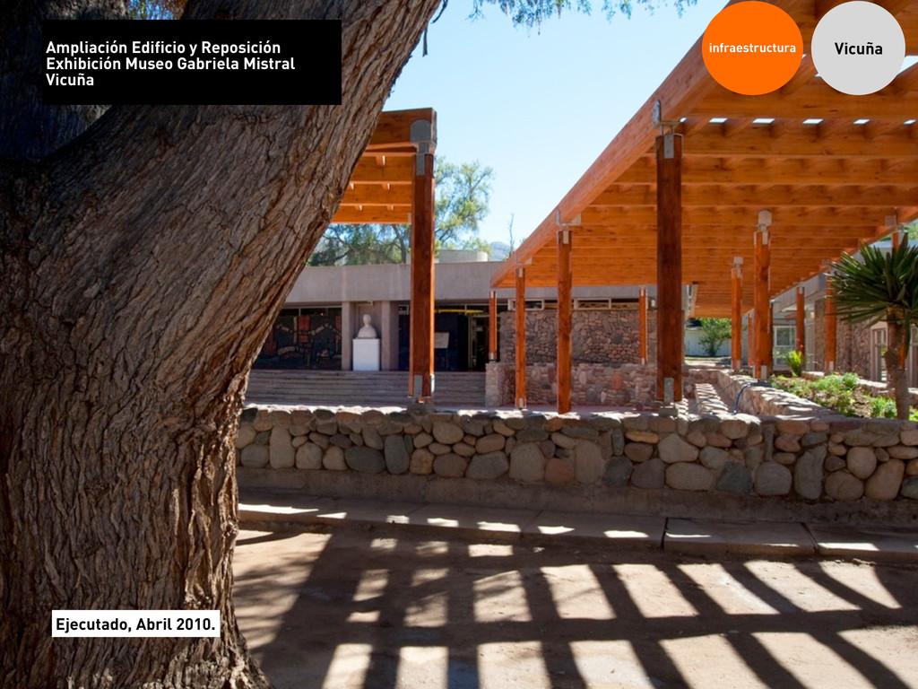 infraestructura Vicuña Ampliación Edificio y Re...