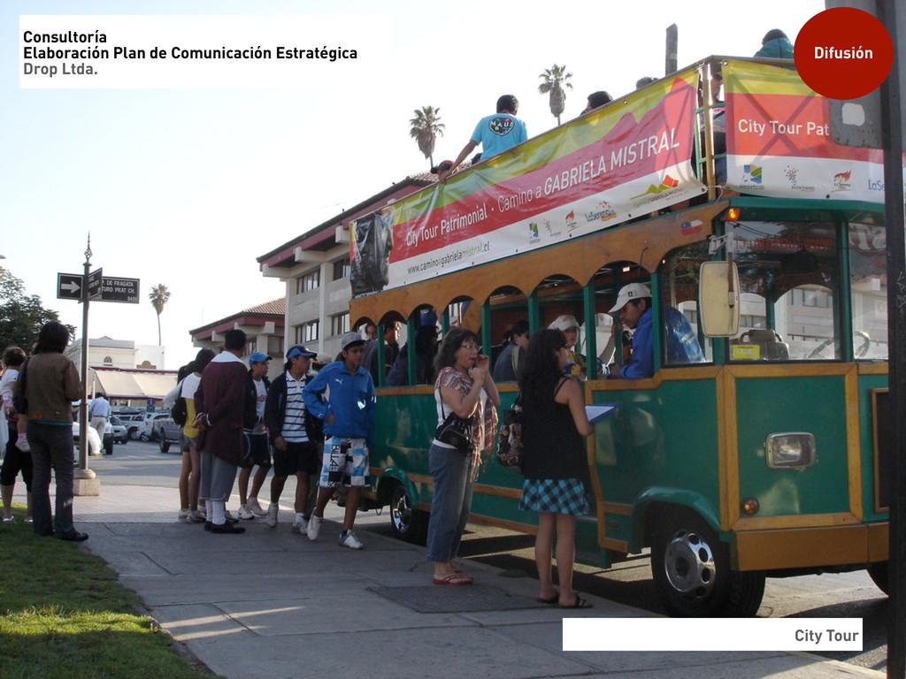 City Tour Difusión Consultoría Elaboración Plan...