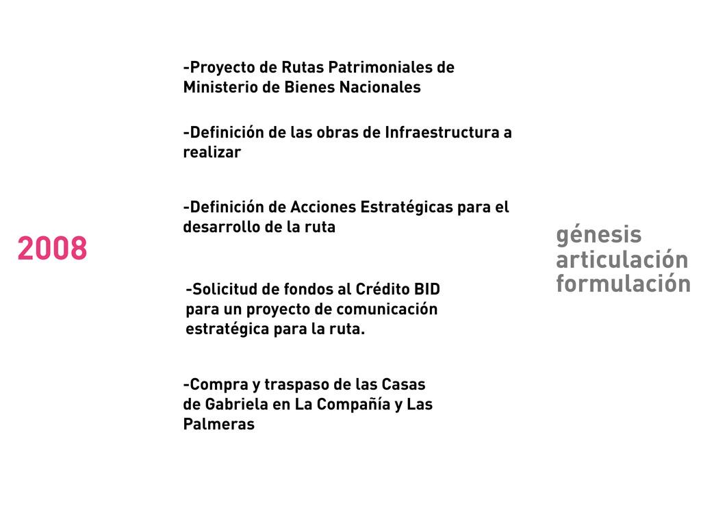 -Proyecto de Rutas Patrimoniales de Ministerio ...