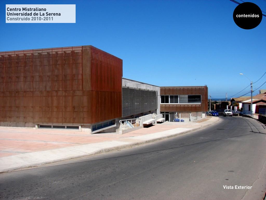 Centro Mistraliano Universidad de La Serena Con...