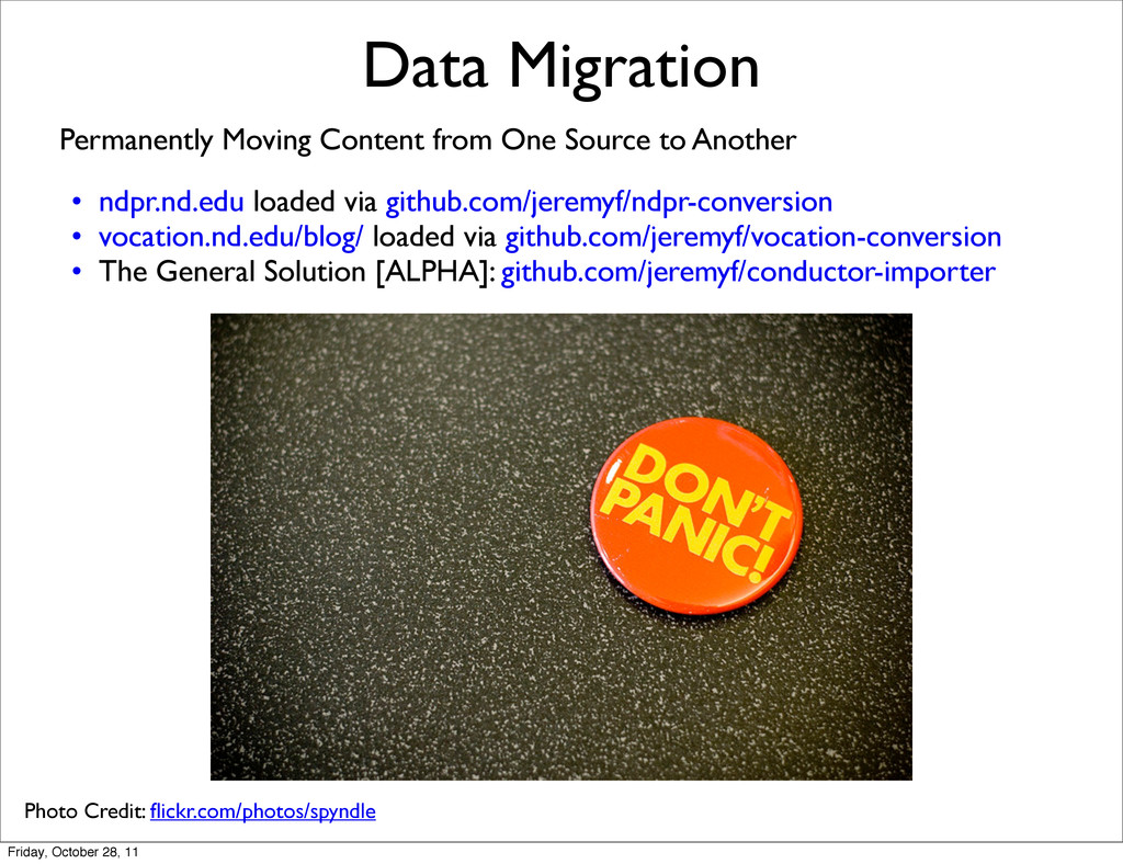 Data Migration Permanently Moving Content from ...