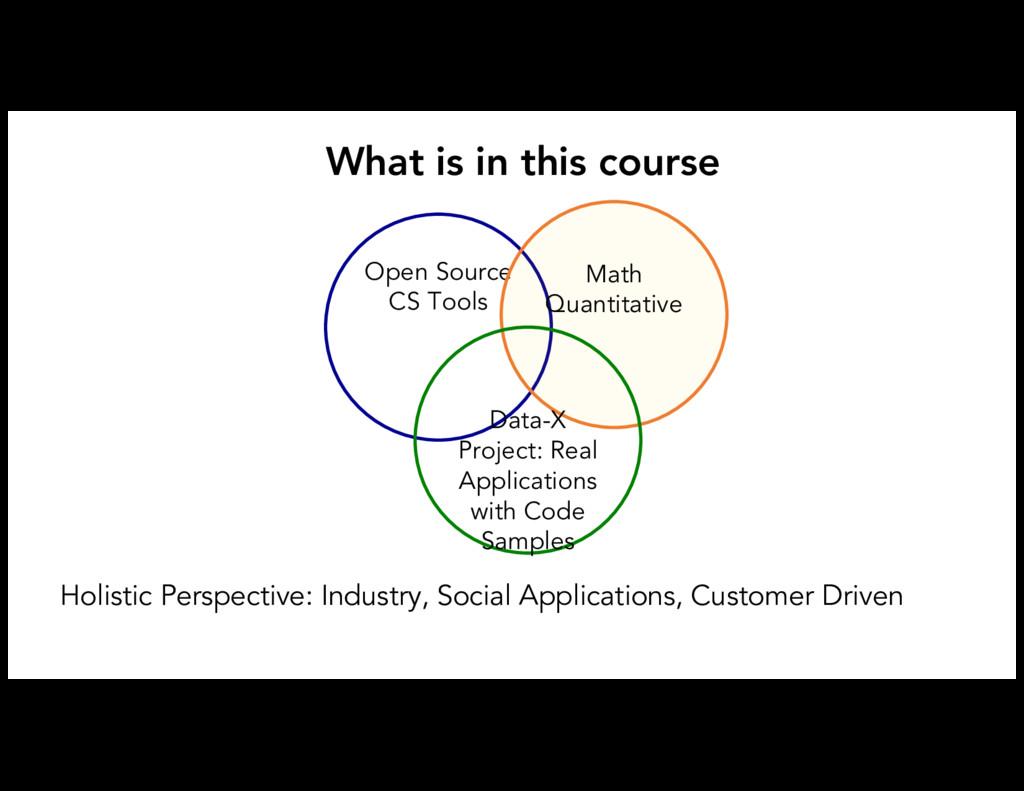 Open Source CS Tools Math Quantitative Data-X P...