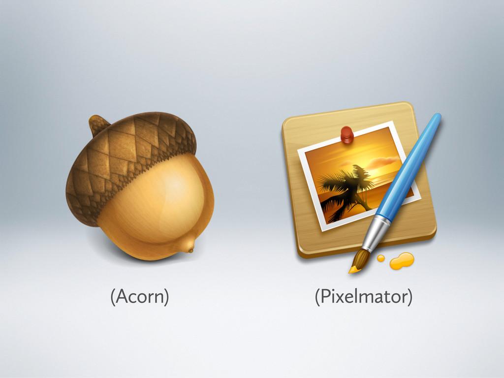 (Acorn) (Pixelmator)