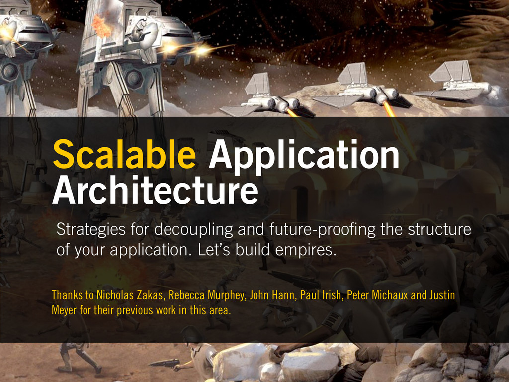 Strategies for decoupling and future-proo ng th...