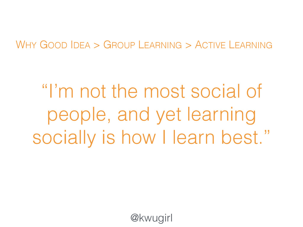 """@kwugirl """"I'm not the most social of people, an..."""