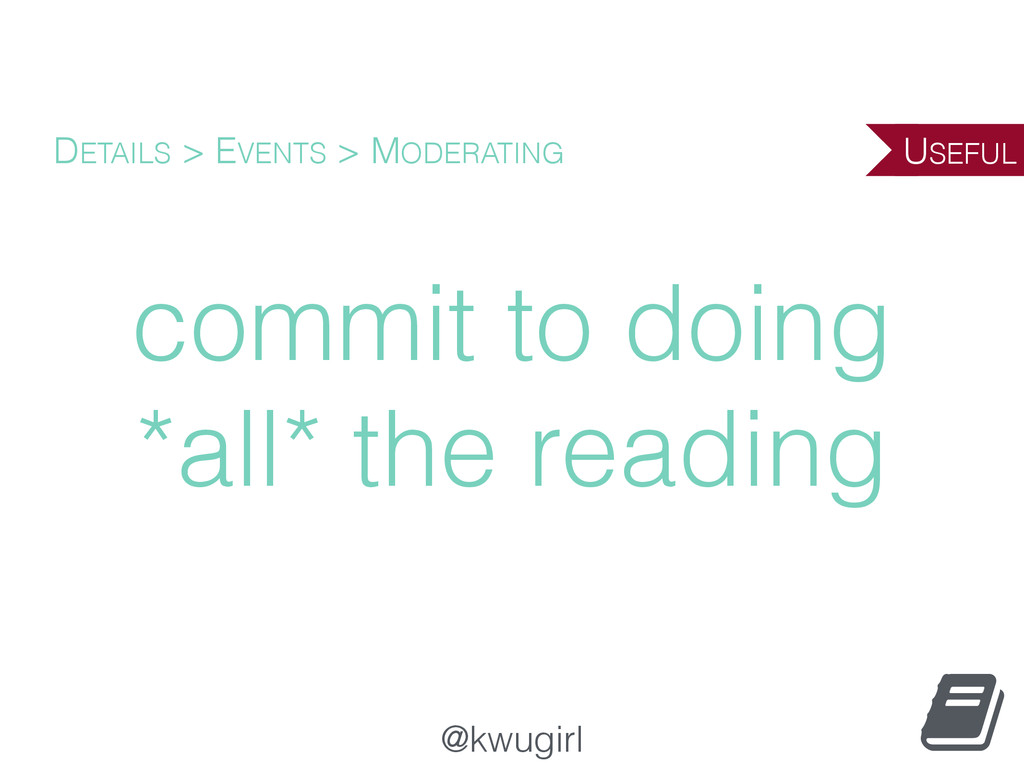 @kwugirl commit to doing *all* the reading DETA...