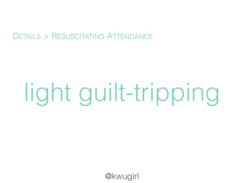 @kwugirl light guilt-tripping DETAILS > RESUSCI...