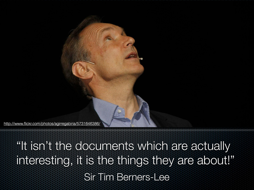 """""""It isn't the documents which are actually inte..."""
