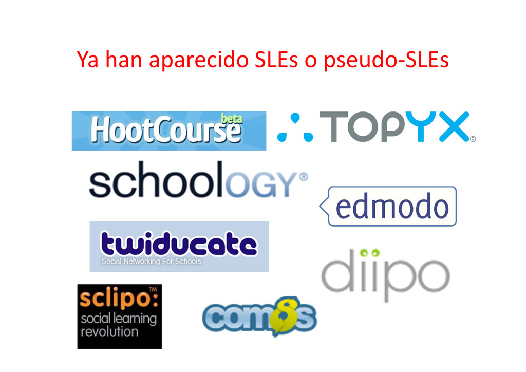 Ya han aparecido SLEs o pseudo‐SLEs