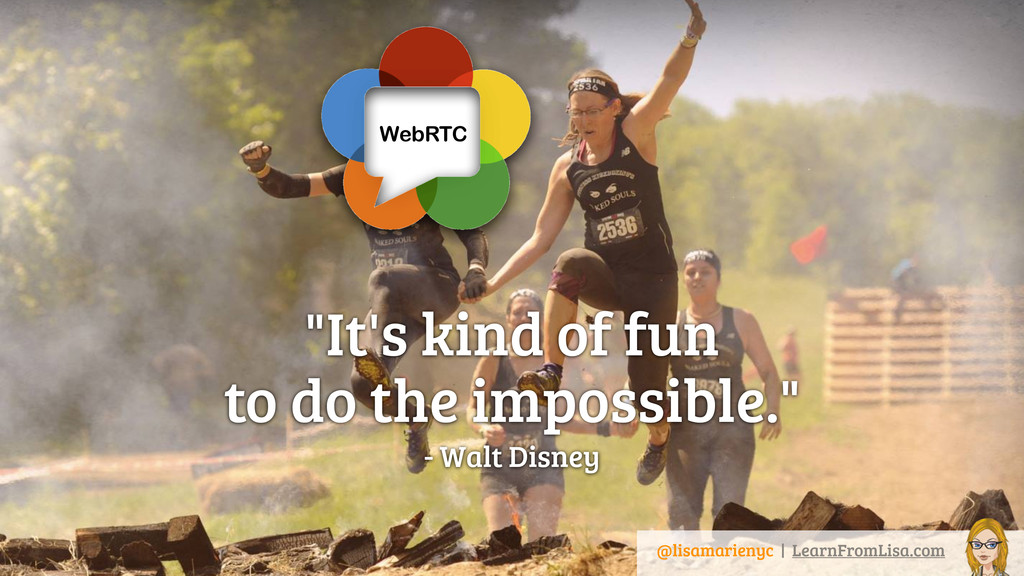 """It's kind of fun 
