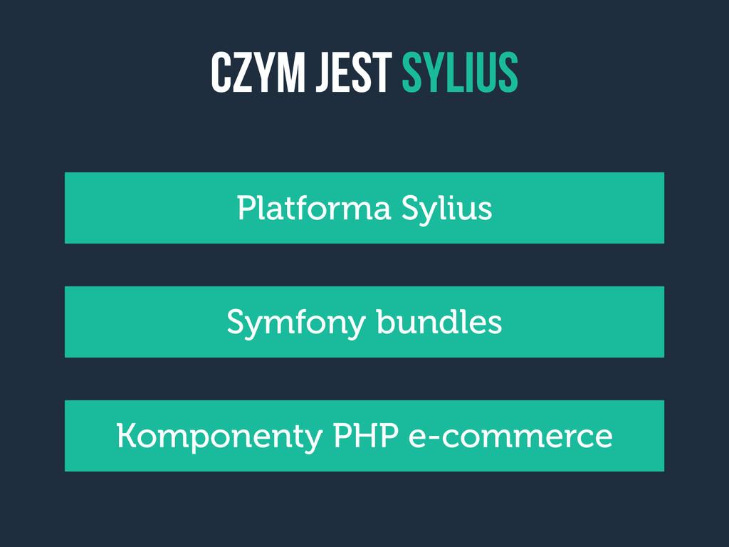 czym jest sylius Komponenty PHP e-commerce Symf...