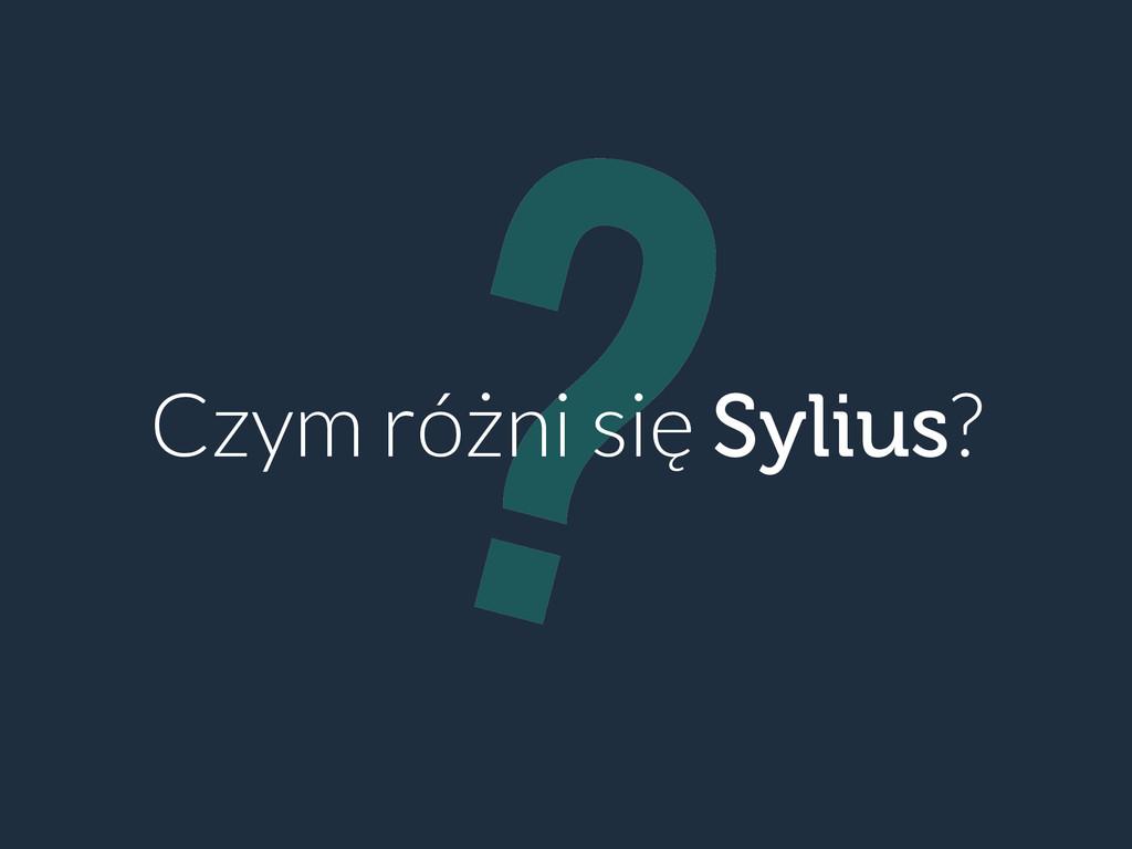 ? Czym różni się Sylius?
