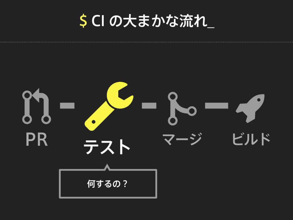 $*ͷେ·͔ͳྲྀΕ@ 13 ςετ Ϛʔδ Ϗϧυ Կ͢Δͷʁ