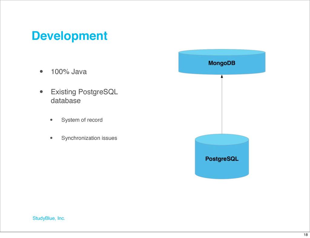 StudyBlue, Inc. Development • 100% Java • Exist...