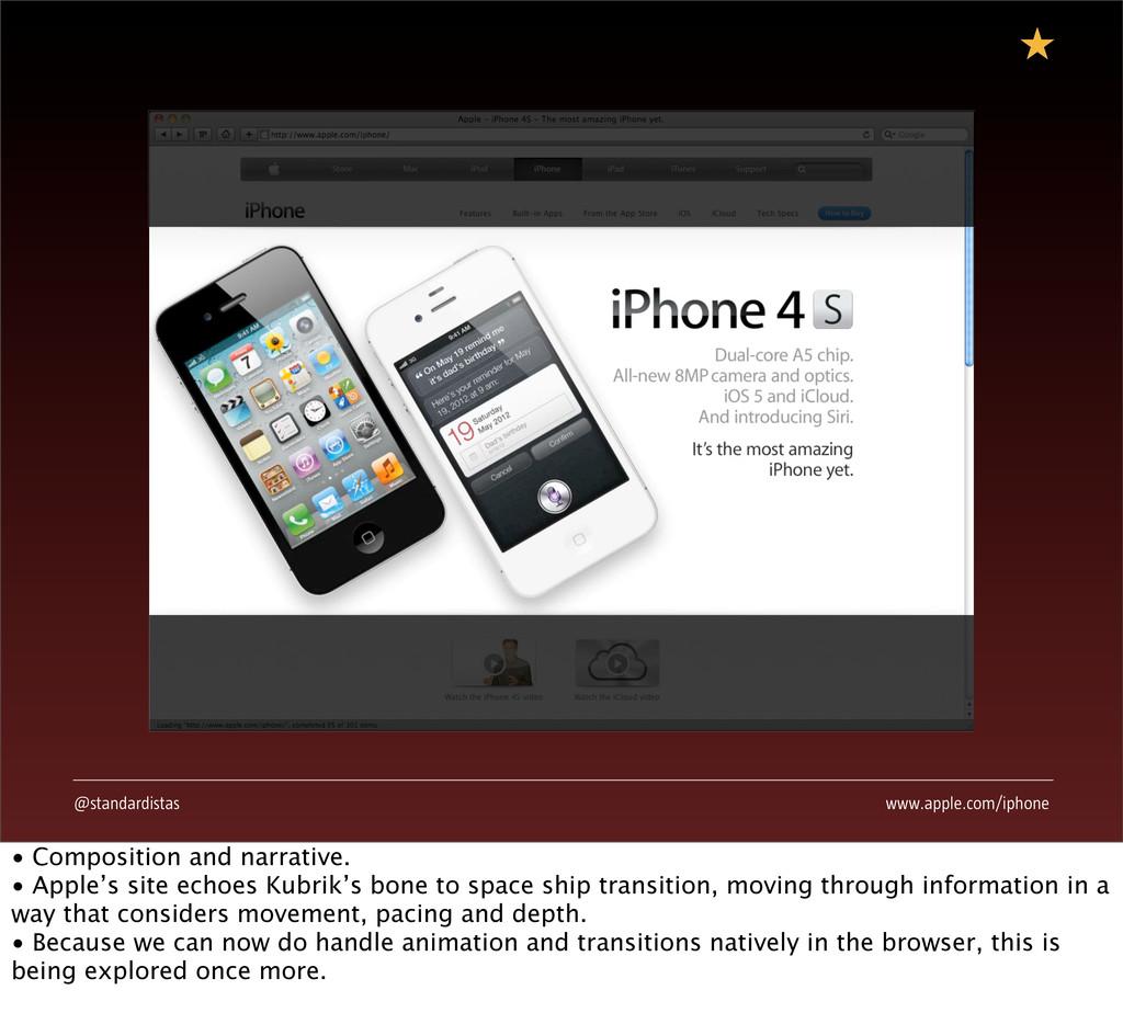@standardistas www.apple.com/iphone • Compositi...