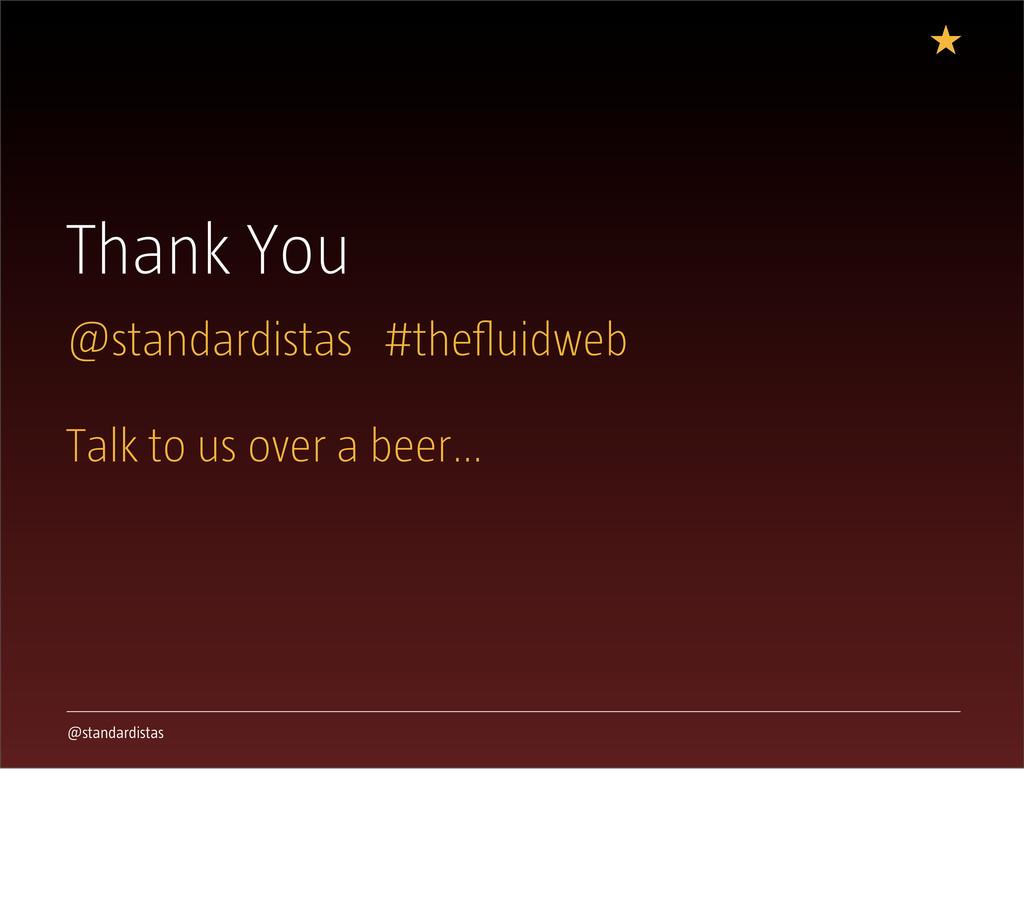 @standardistas Thank You @standardistas #theflui...