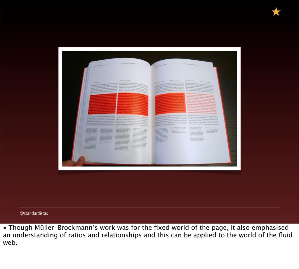 @standardistas • Though Müller-Brockmann's work...