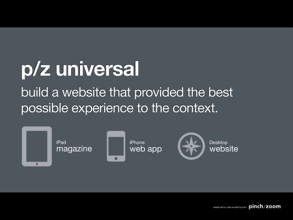 p/z universal build a website that provided the...