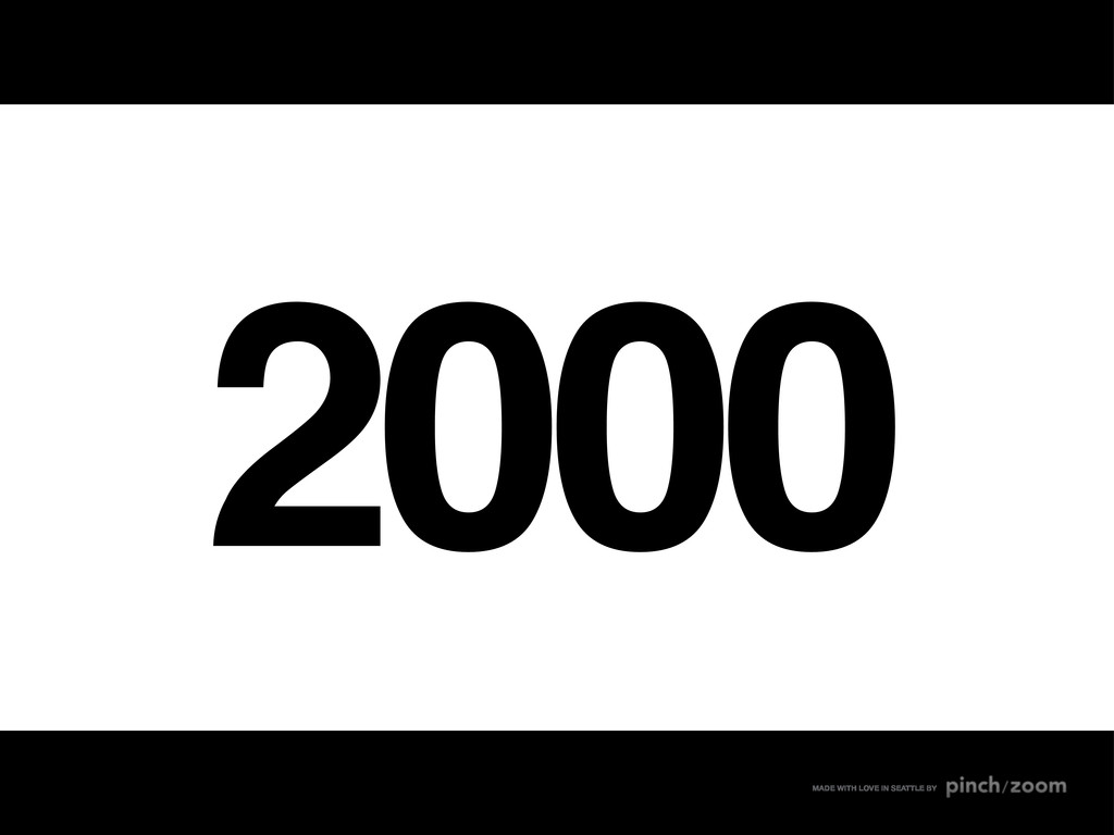 2000 MADE WITH LOVE IN SEATTLE BY