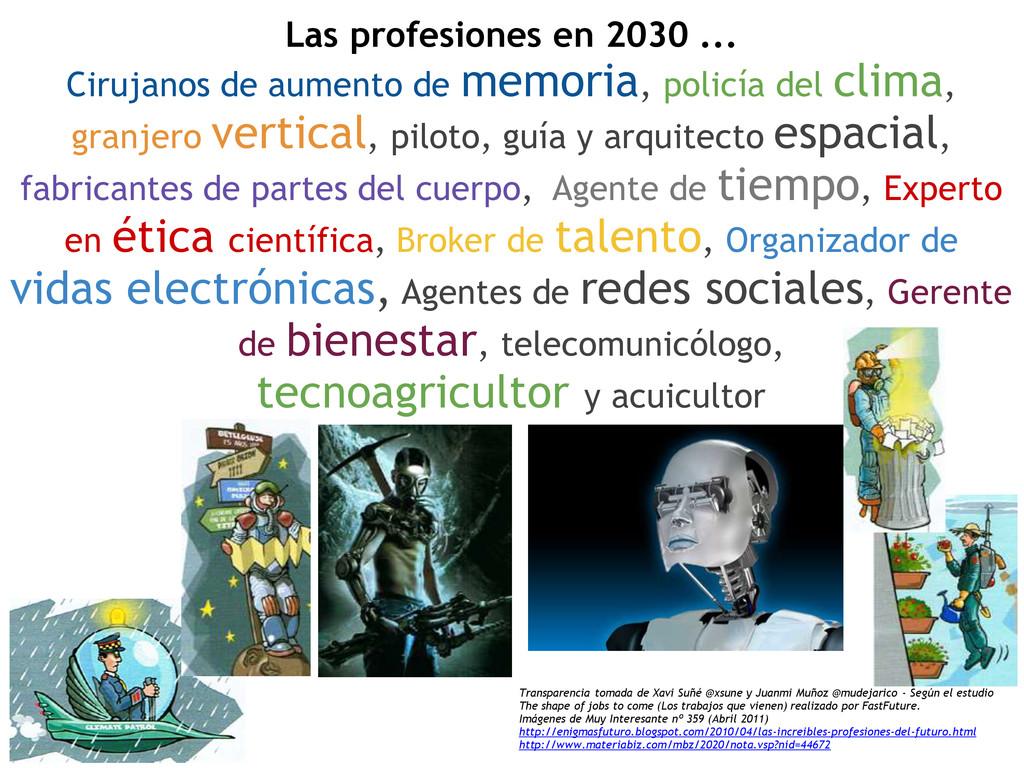 Las profesiones en 2030 ... Cirujanos de aument...