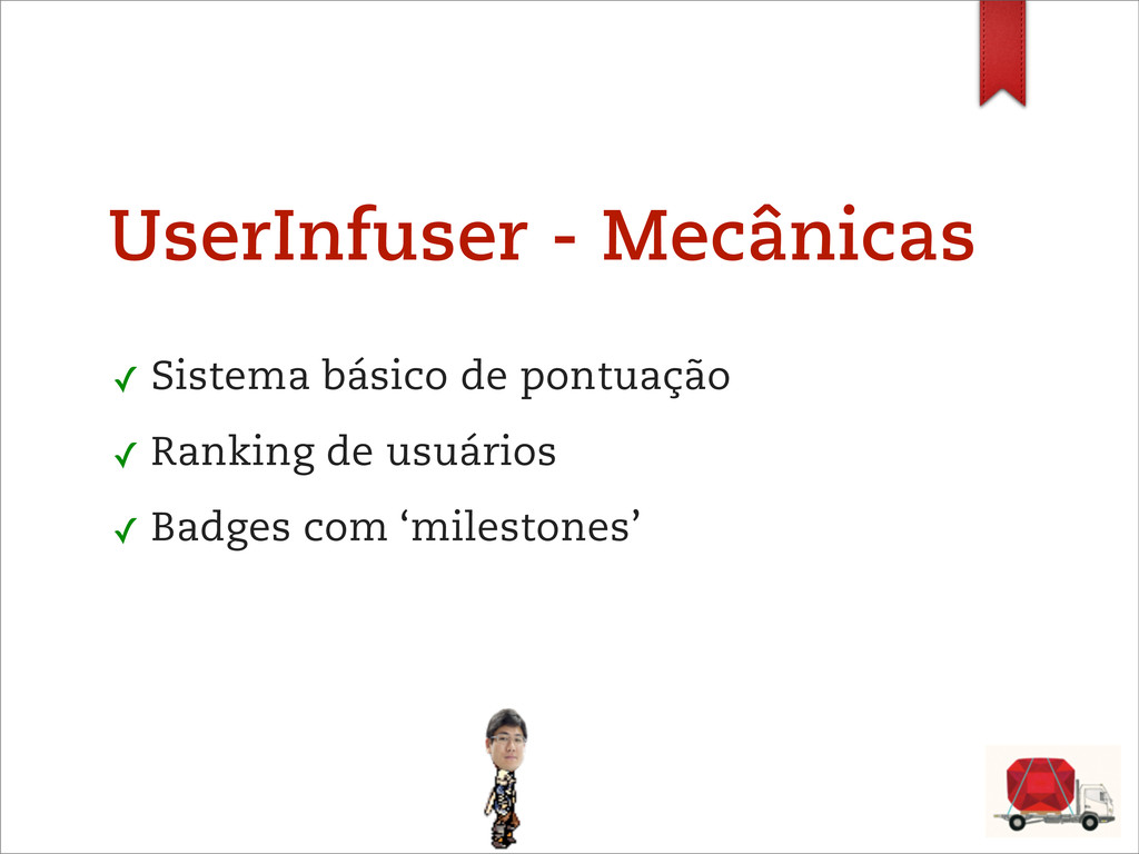 UserInfuser - Mecânicas ✓ Sistema básico de pon...