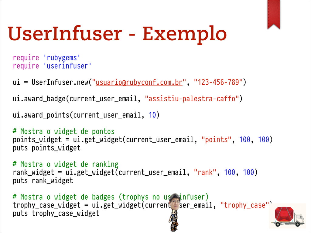 UserInfuser - Exemplo require 'rubygems' requir...