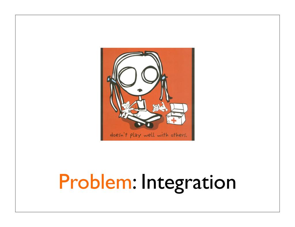 Problem: Integration