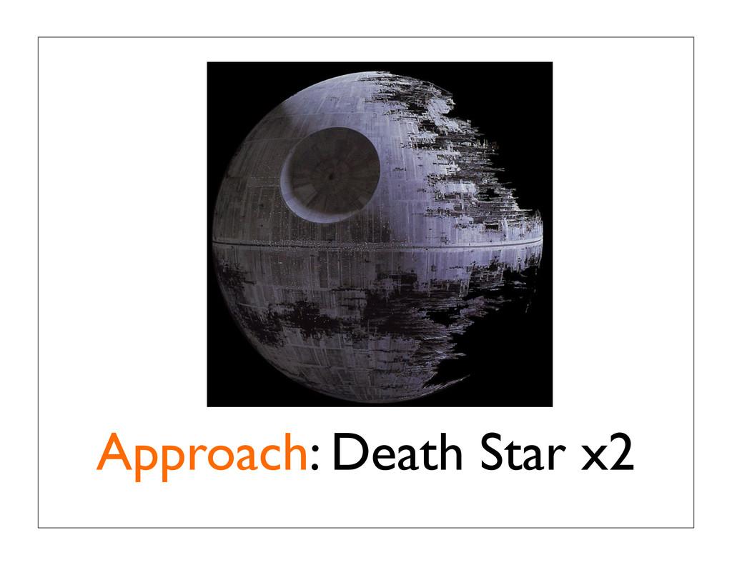 Approach: Death Star x2