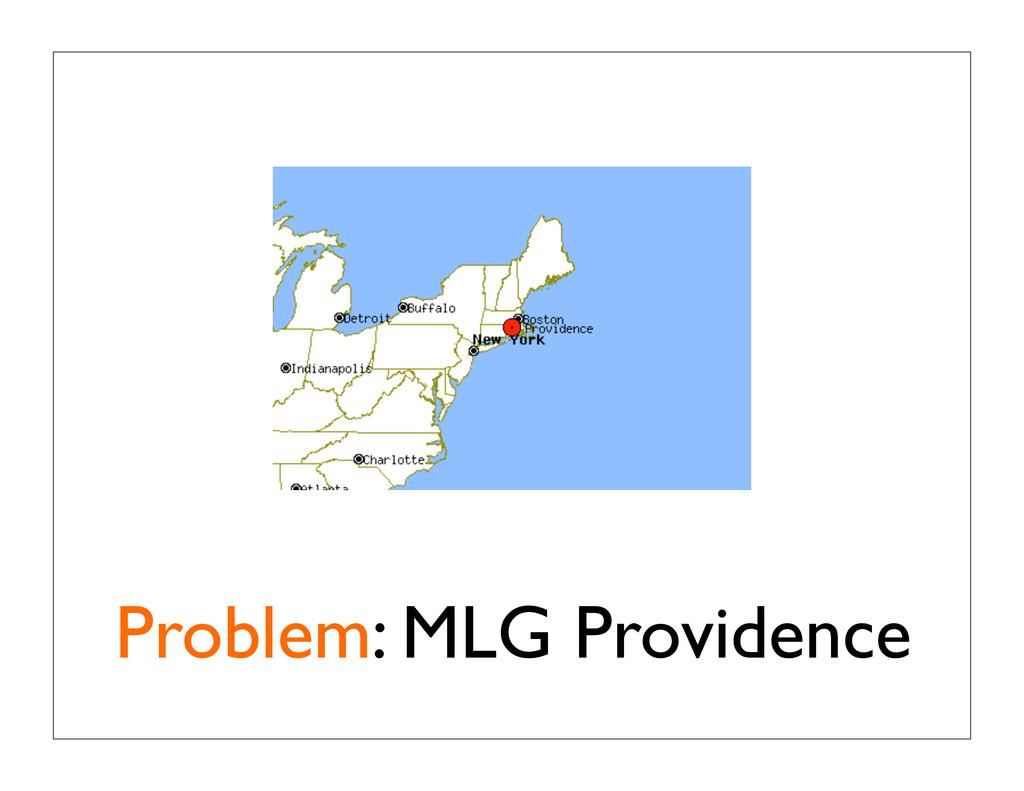 Problem: MLG Providence