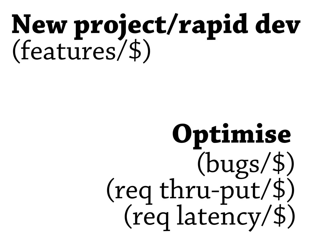 New project/rapid dev Optimise (features/$) (re...