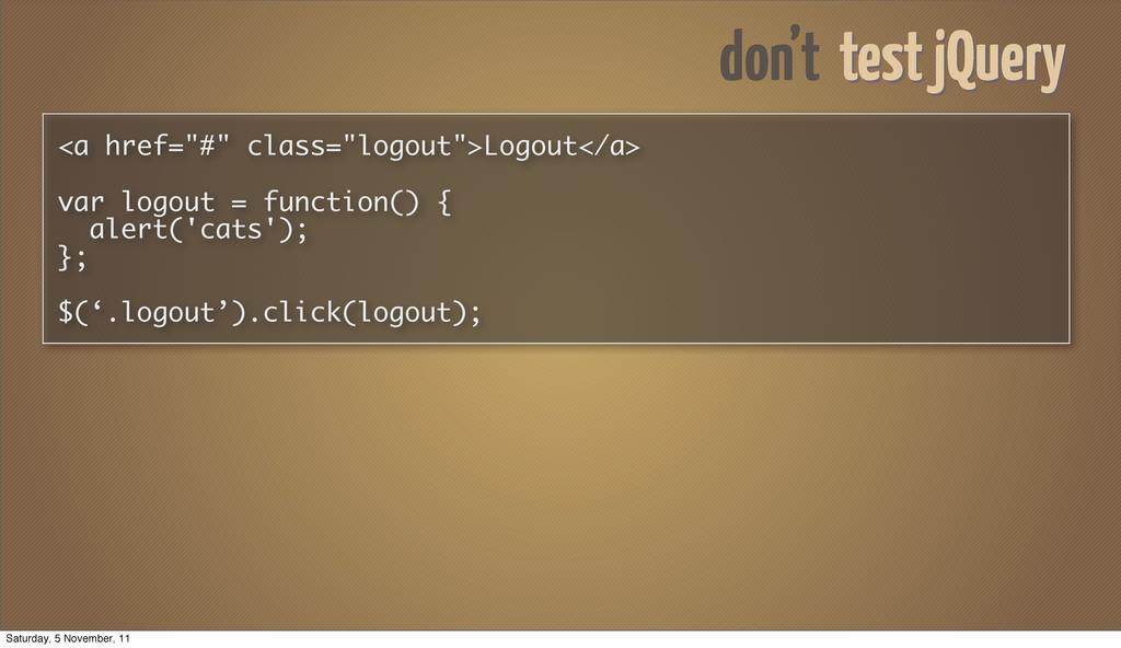 """<a href=""""#"""" class=""""logout"""">Logout</a> var logou..."""