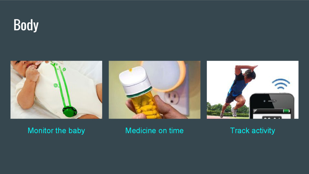 Body Monitor the baby Medicine on time Track ac...