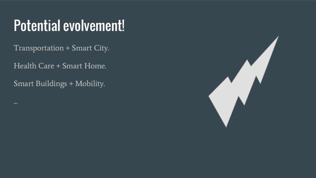 Potential evolvement! Transportation + Smart Ci...