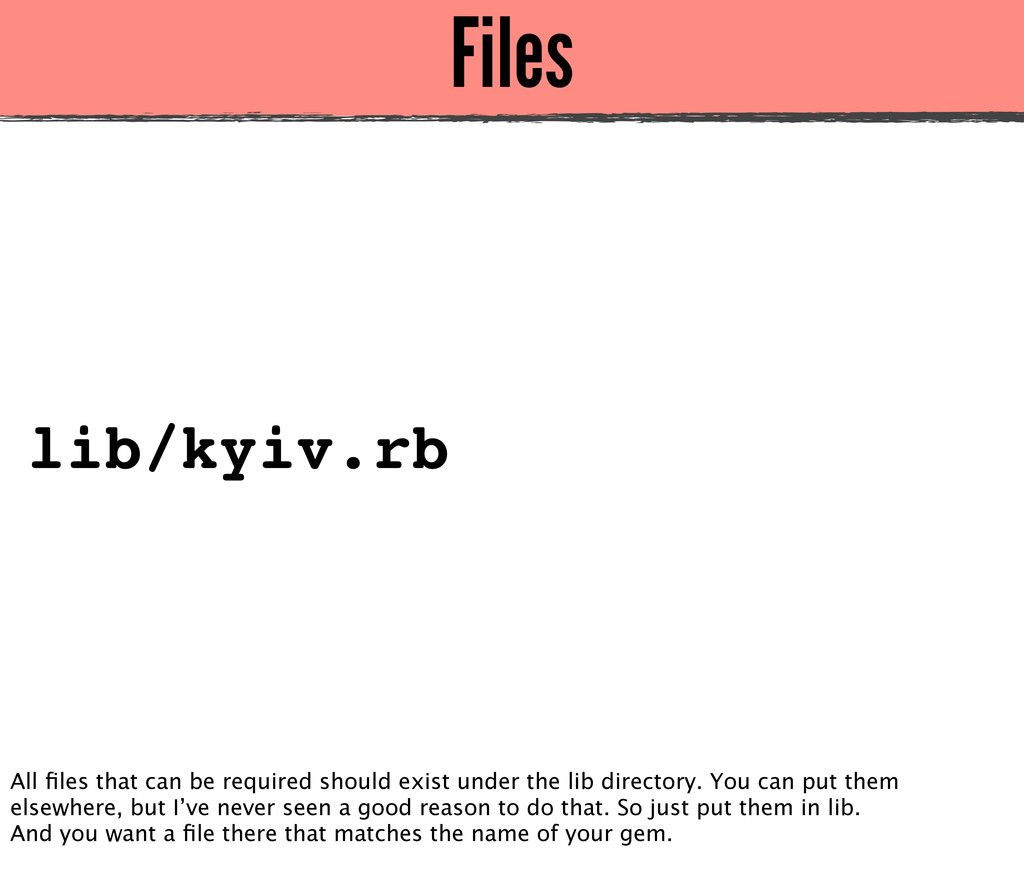Files lib/kyiv.rb All files that can be required...