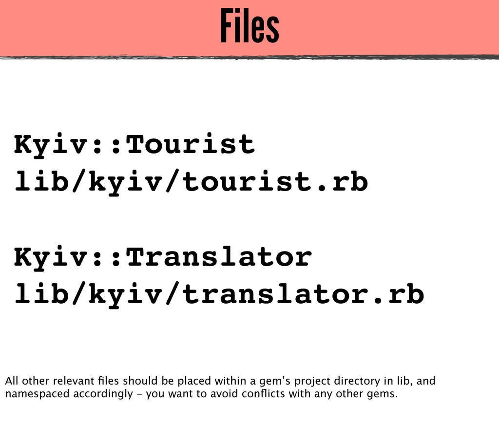 Files Kyiv::Tourist lib/kyiv/tourist.rb Kyiv::T...