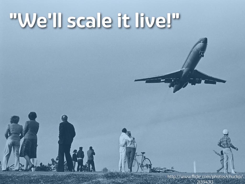 "Lanyrd.com ""We'll scale it live!"" http://www.fli..."