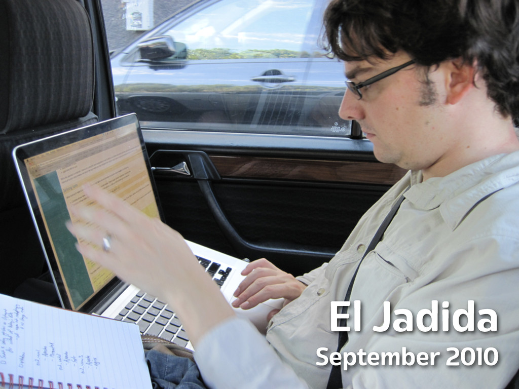 Lanyrd.com El Jadida September 2010