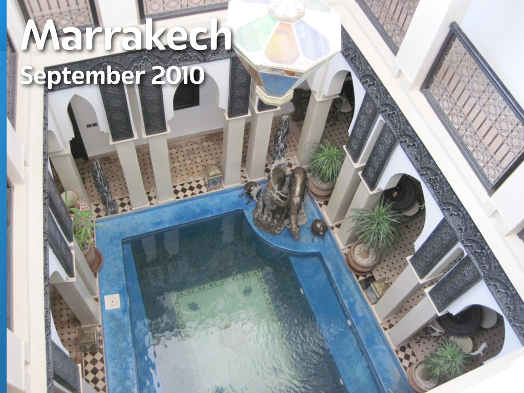 Lanyrd.com Marrakech September 2010