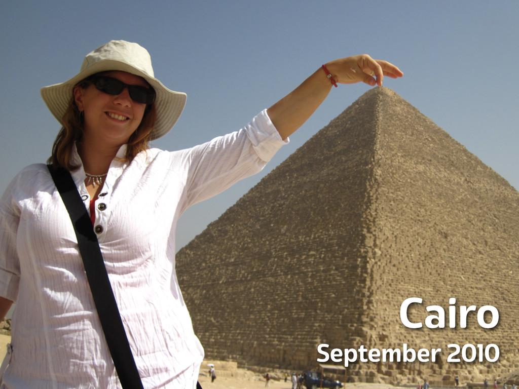 Lanyrd.com Cairo September 2010