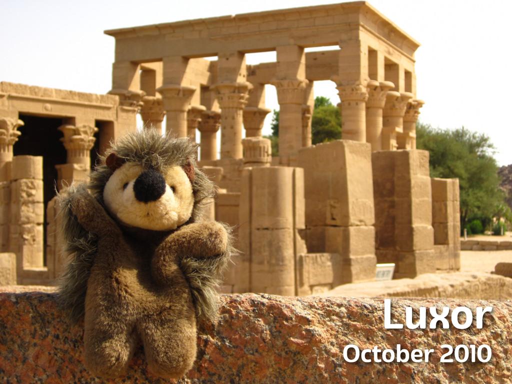Luxor October 2010