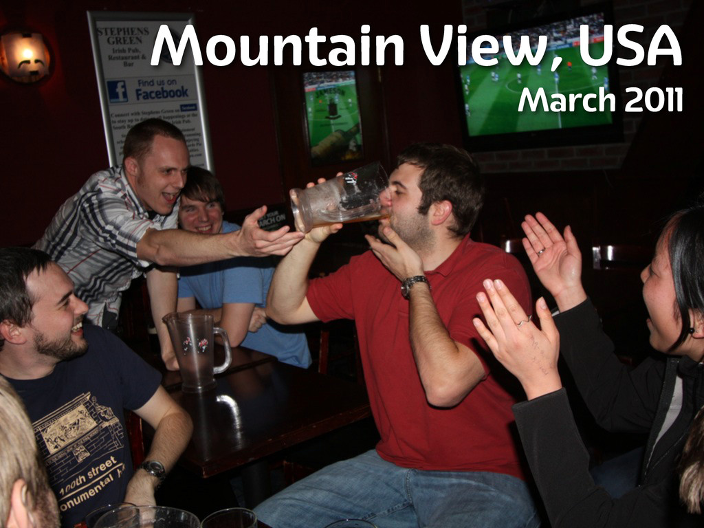Mountain View, USA March 2011