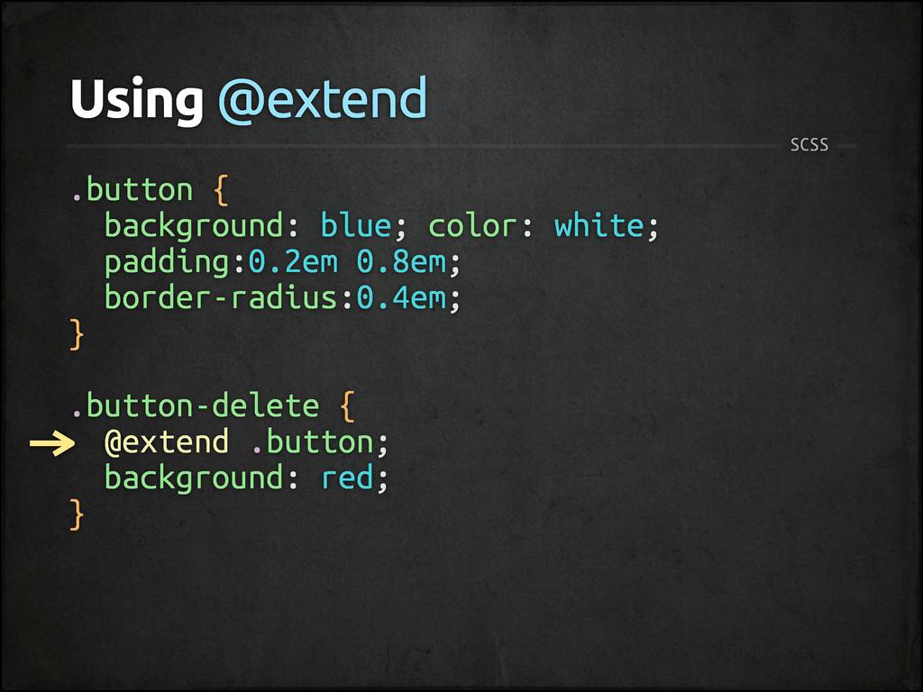 .button { background: blue; color: white; paddi...