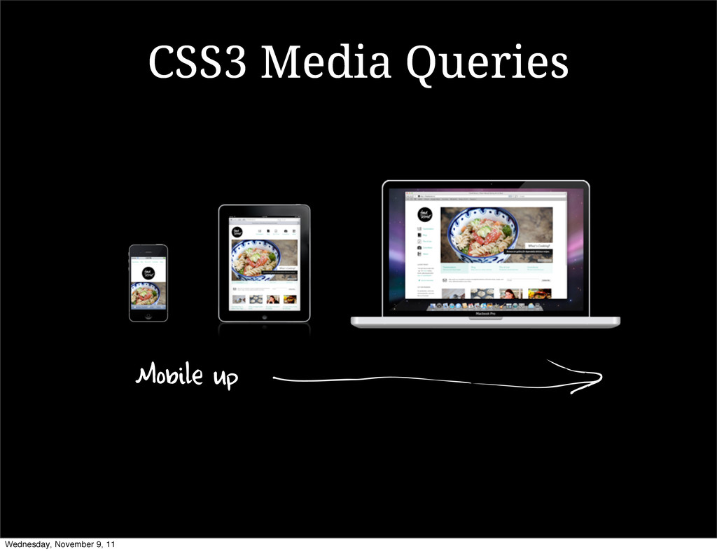CSS3 Media Queries Mobile up Wednesday, Novembe...