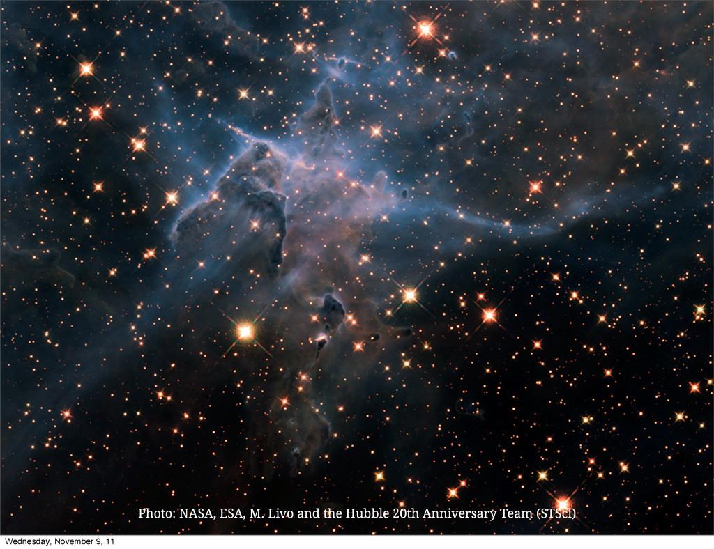 Photo: NASA, ESA, M. Livo and the Hubble 20th A...