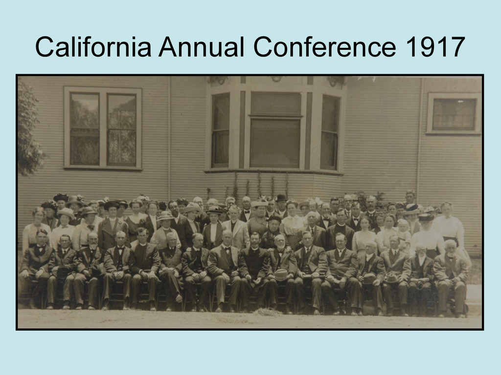 California Annual Conference 1917